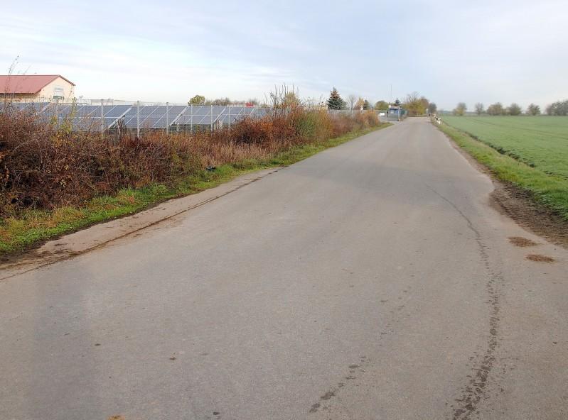 Straße durch das Gewerbegebiet wird öffentlich