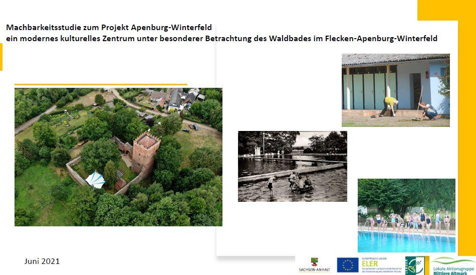 Machbarkeitsstudie zum Projekt Apenburg-Winterfeld