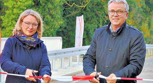 Beetzendorf-Diesdorf Verkehr rollt über die neue Purnitzbrücke